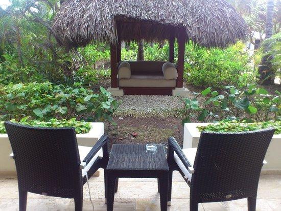 Paradisus Punta Cana: Jardin de la habitación