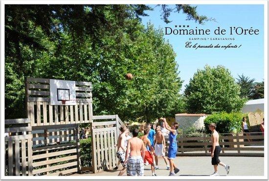 Camping Domaine de l'Orée : TOURNOI DE BASKET