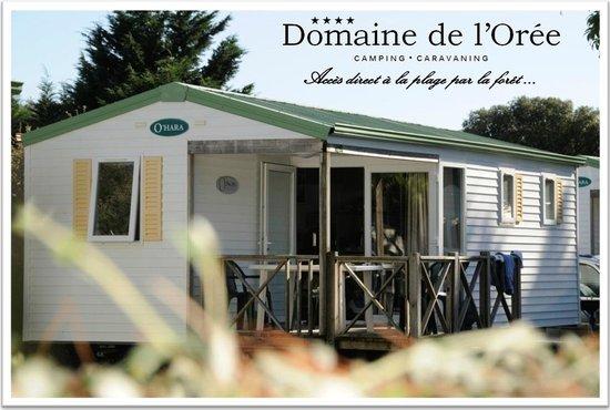 Camping Domaine de l'Orée : MOBIL HOME