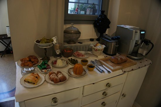 RossoSegnale Concept Art Gallery B&B: Part of Breakfast
