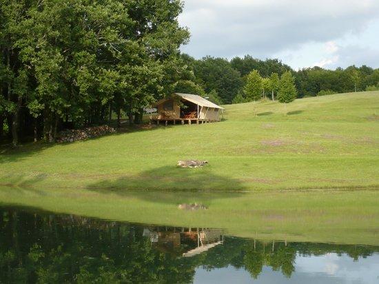 Les Valades : Tente Lodge