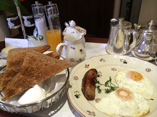 Egerton House Hotel: Nice cooked breakfast too