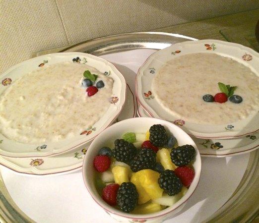 Egerton House Hotel : Absolutely fabulous porridge