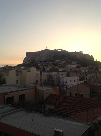 Central Hotel Athens: View from room