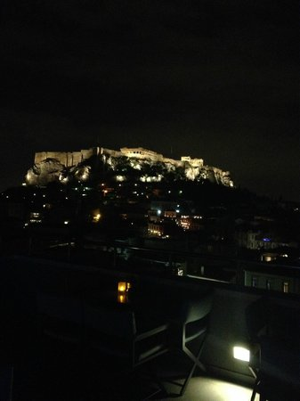 Central Hotel Athens: Roof garden