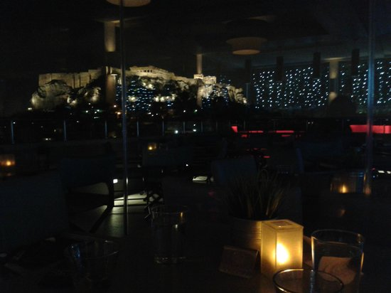 Central Athens Hotel: Roof garden/bar