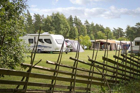 Ljugarns Semesterby & Camping : Campingområder