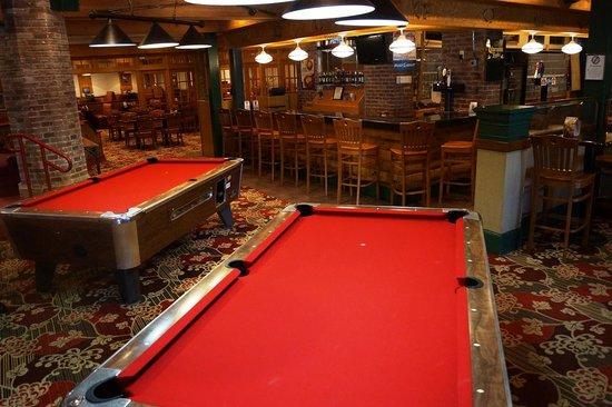 Moose Creek Steak House : Pool Tables