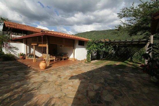 Terraza mirador con vista a la monta a picture of casa - Terraza casa de campo ...