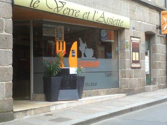 restaurant Le verre et l'assiette