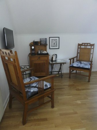 Bed & Breakfast The Old Chestnut Tree Silkeborg : Cosy sitting corner