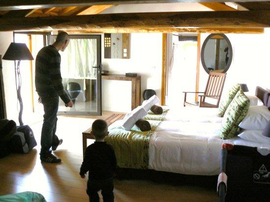 La Petite Cour Verte: la chambre familiale