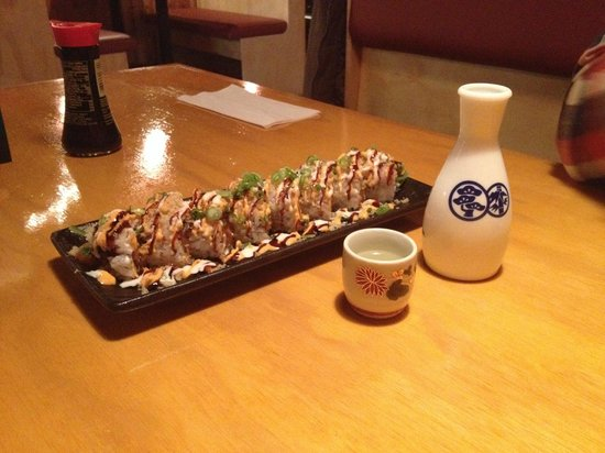 Seh-Mi Japanese Restaurant : A delicious Roll