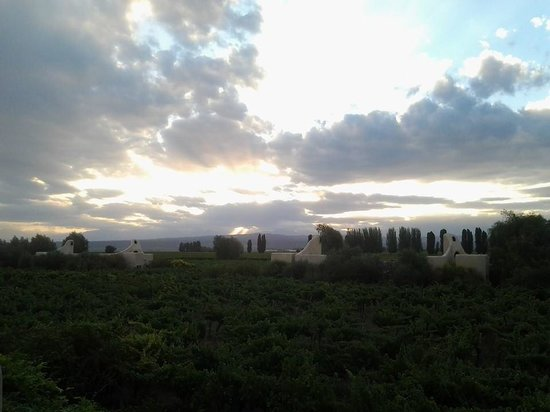 Cavas Wine Lodge: Cavas Sunset