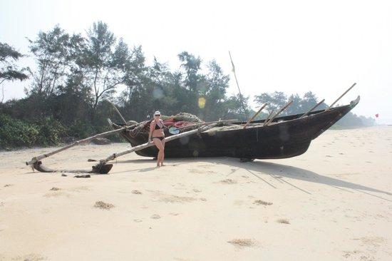 Novotel Goa Dona Sylvia Resort: along the beach