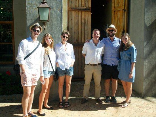 Wine Escapes - Exclusive Cellar & Vineyard Tours : Besök på Ernie Els Winery