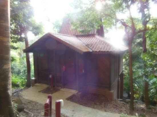 Berjaya Langkawi Resort - Malaysia: Chalet entrance