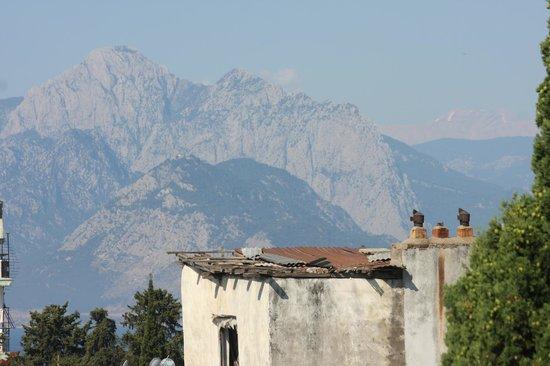 Alp Pasa Hotel: uitzicht van af het balkon