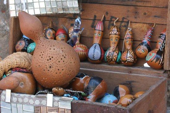 Alp Pasa Hotel: leuk versierde kalebassen