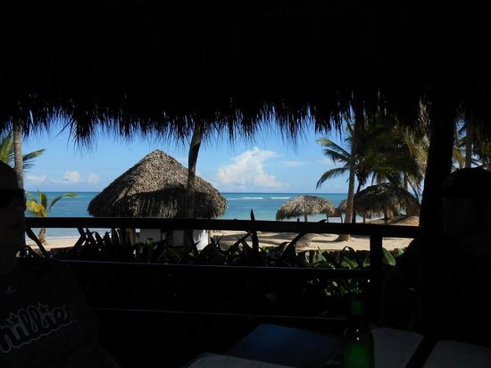 Zoetry Agua Punta Cana : view from luch at Indigo