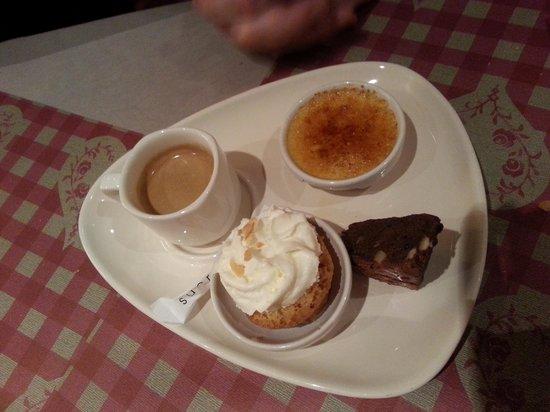 L'Ancienne Douane: café gourmand