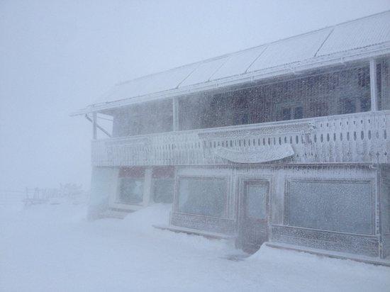Snowstorm @ rifugio Lagazuoi