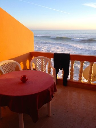 Surf Stay : The balcony