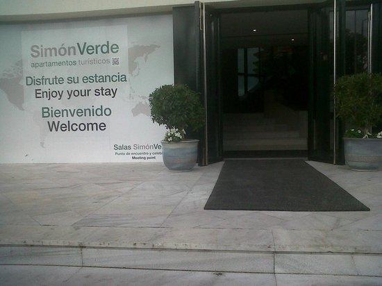 Hotel Apartments Simon Verde: detalle entrada