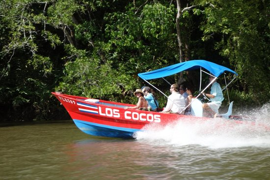 Playa Zancudo, Costa Rica: One of the boats used on the tour