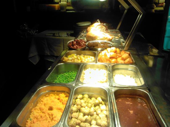 The Sneyd Arms Hotel: beautiful carvery