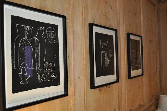 Pensiun Aldier: Le Corbusier im eigenen Schlafzimmer!
