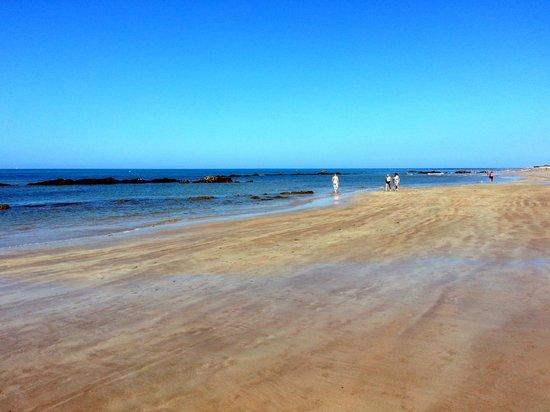 Chipiona, Spanyol: Playa de las Tres Piedras