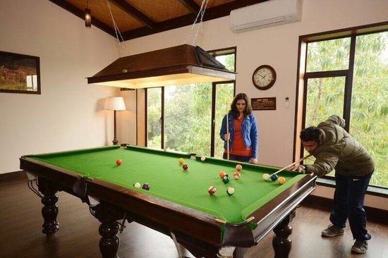 Aahana the Corbett Wilderness: Indoor games at Aahana