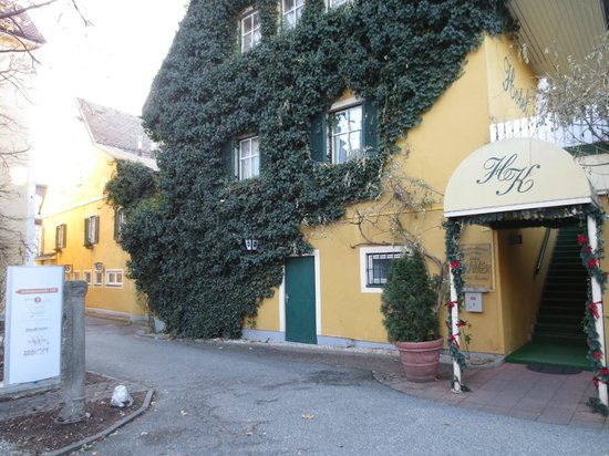 Kramer Hotel: fronte hotel