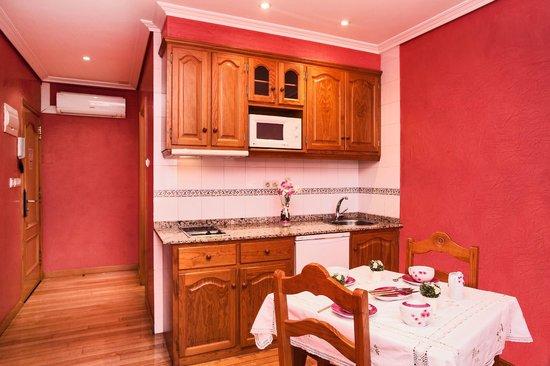 HOTEL PUERTA DEL SOL: cocina apartamento