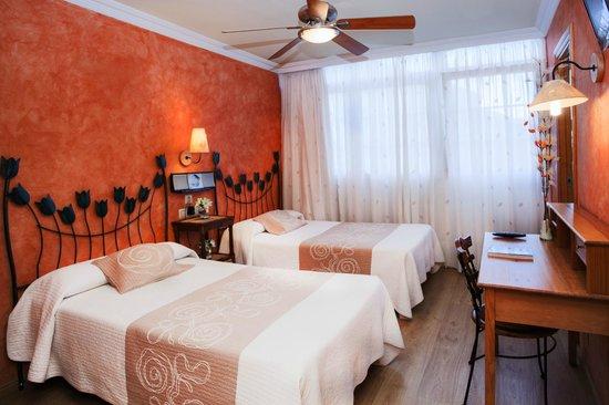 Hotel Puerta de Sol: habitacion doble dos camas