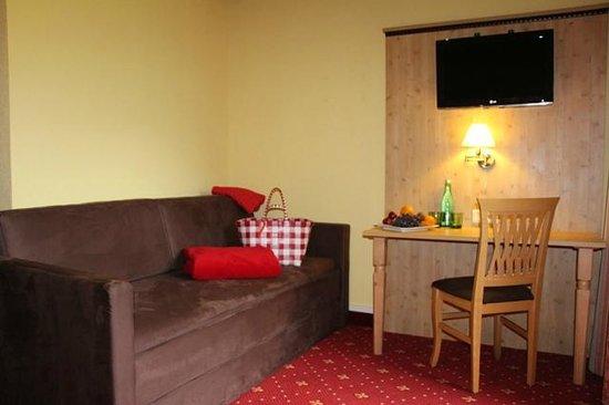 Hotel Lindwurm: Doppelzimmer Komfort mit Zustellbett