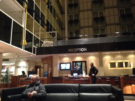 Radisson Blu Hotel, Amsterdam: Reception