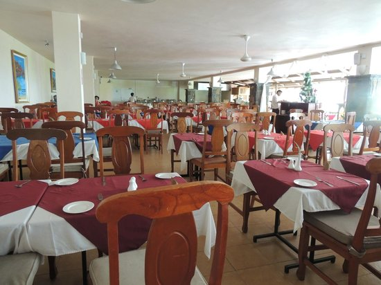 Le Palmiste Resort & Spa: the restaurant