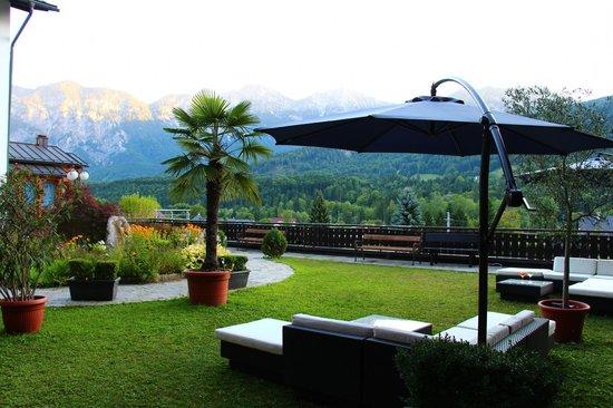 Hotel Lindwurm: Lounge/Garten