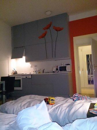 Capital Apartments: мебель и постель из ИКЕА