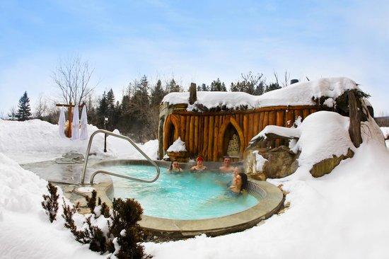 Auberge & Spa le Refuge : Bain détente / Relaxing bath