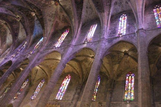 Palma Cathedral Le Seu: Cathedral (Le Seu)     Placa de l'Almudaina, Palma de Mallorca, Majorca, Spain