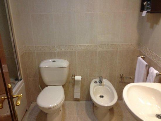 Habitat Center Los Girasoles: uno de los baños