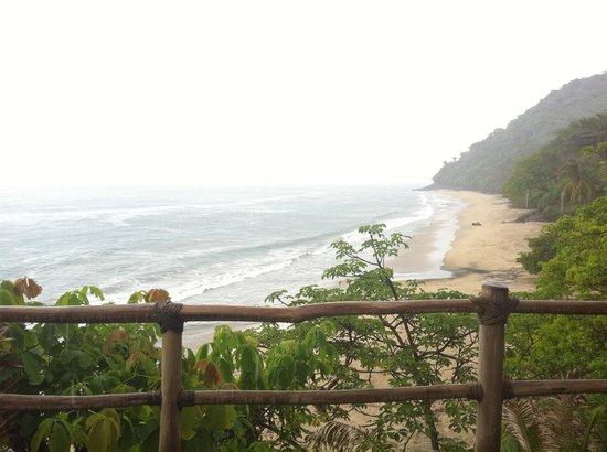 Punta Monterrey Beach: La vista desde el cuarto.