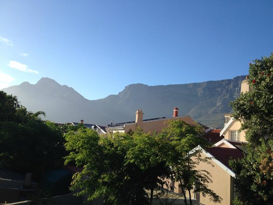 An African Villa: Table Mountain from our room