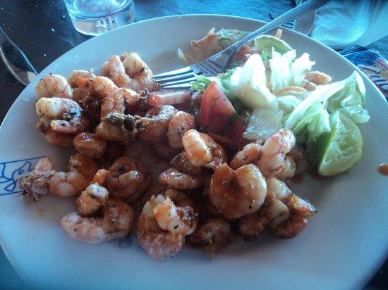 Hotel Playa Mazatlan : uno de los tantos platos k hay en el buffet