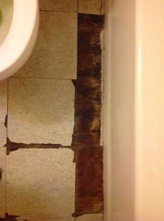 Bathroom Floor Picture Of Barking Sands Beach Cottages