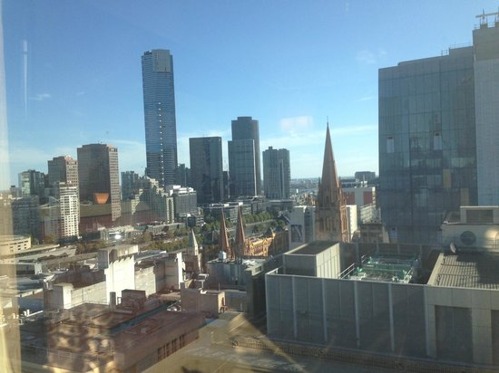Grand Hyatt Melbourne: View from Room