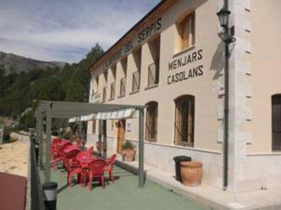 Lorcha, Spania: Entrada